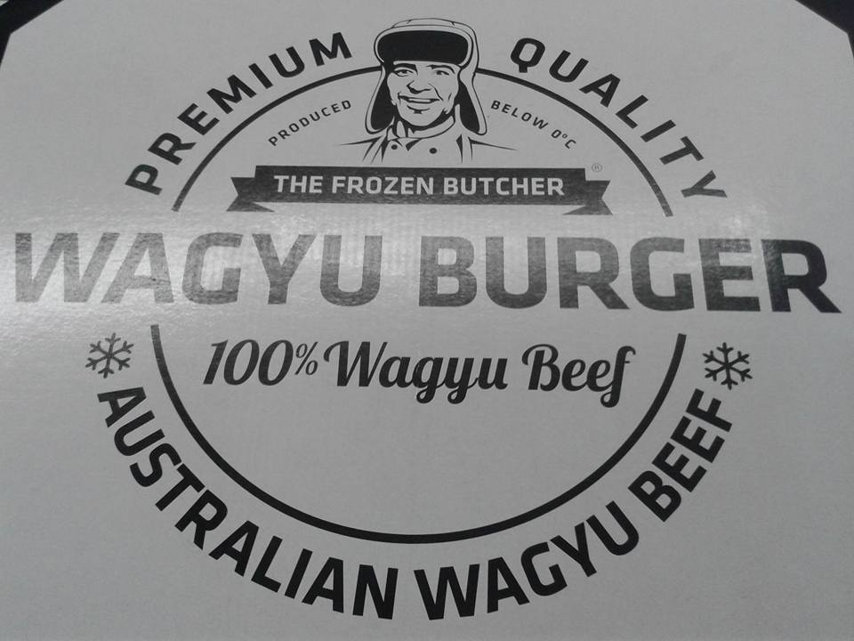 Wagyu burgers by The Frozen Butcher