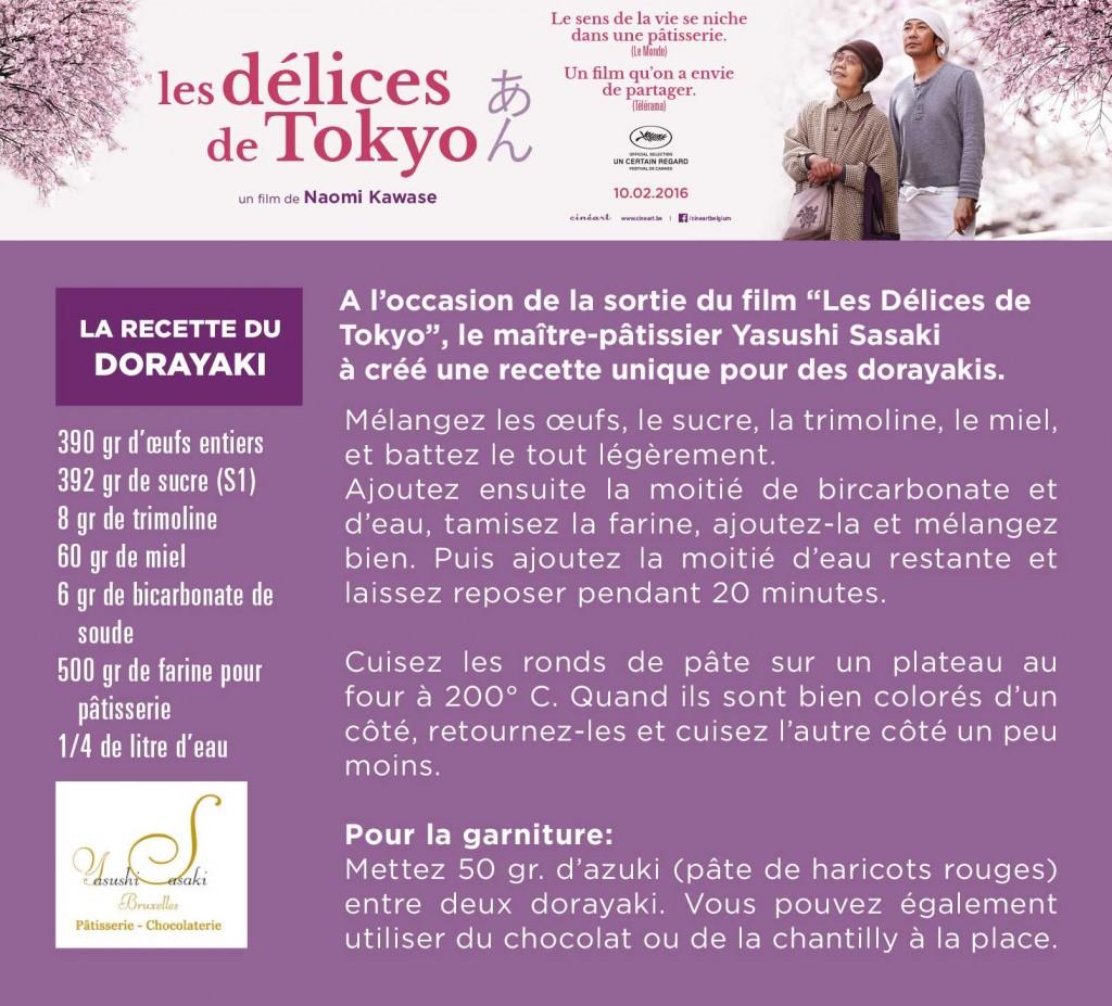 Recette des dorayakis par le maître pâtissier japonais de Bruxelles: Yasushi Sasaki.