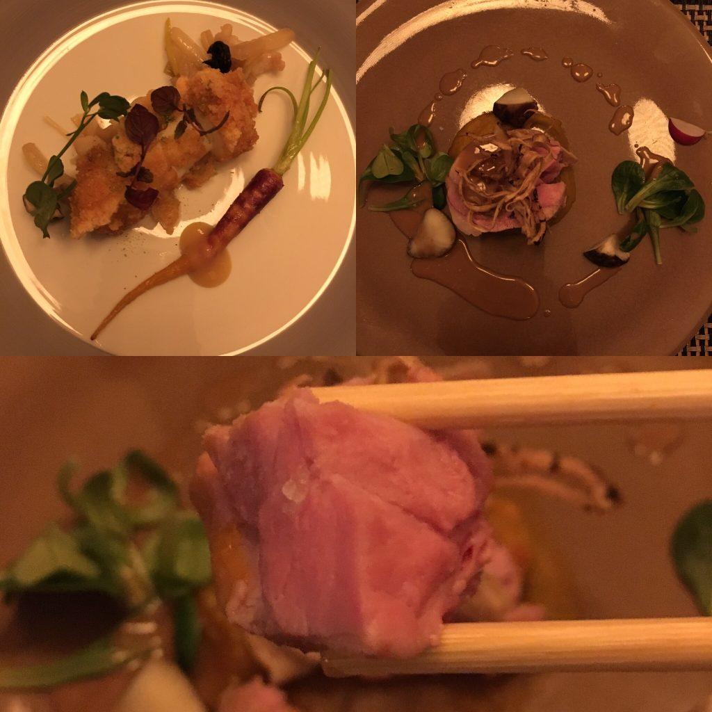 Kamo, Bruxelles, plats de poisson et viande
