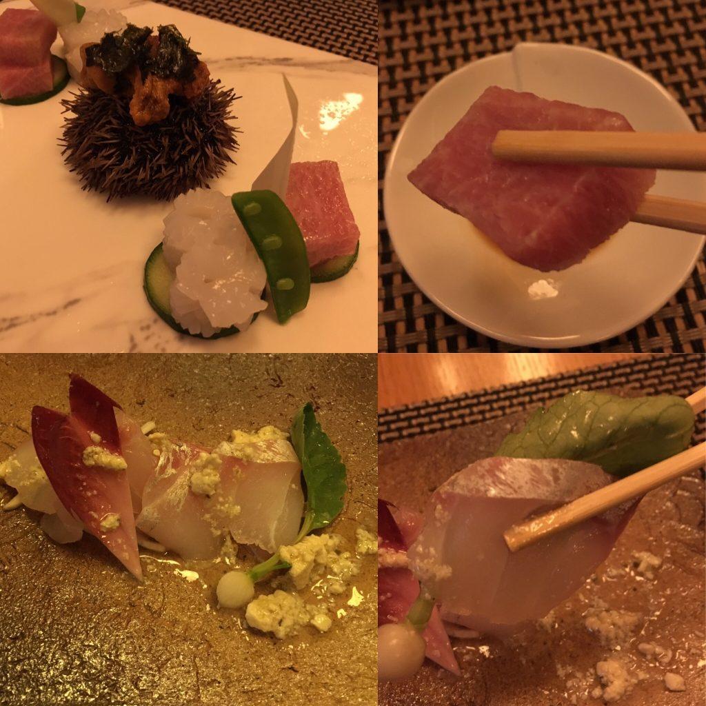 Kamo, Bruxelles, sashimi
