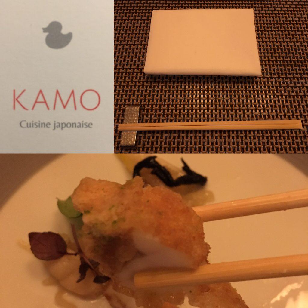 Kamo, restaurant japonais étoilé à Bruxelles