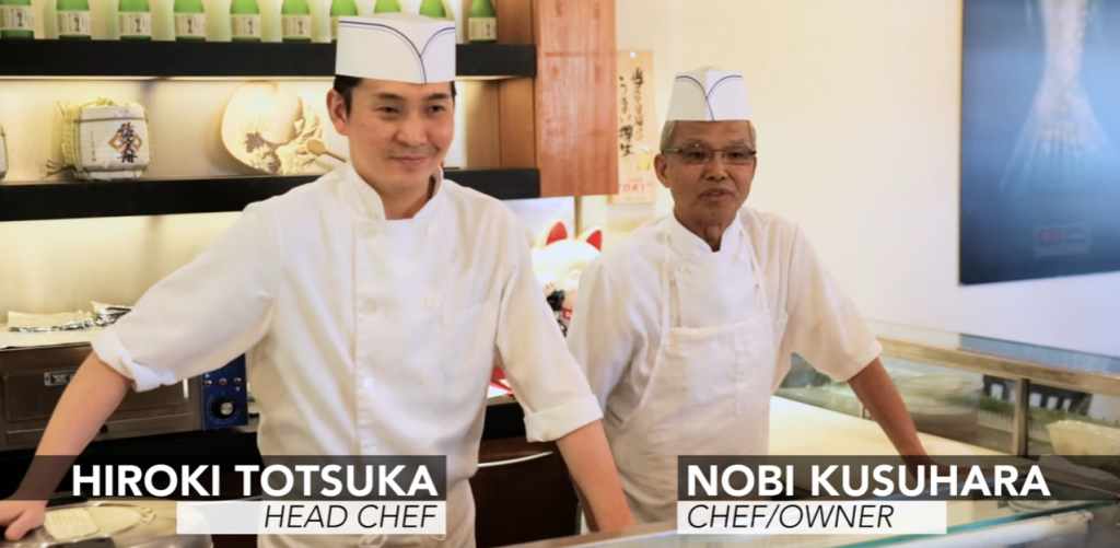 Sasabune Sushi chefs Los Angeles