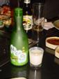 Benihana, Teppanyaki, Las Vegas - Nigori (trouble) sake (non ou peu filtré)