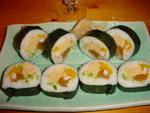 Futomaki : gros sushis roulés