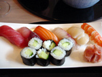 Kamo - Bruxelles - Assortiment de sushis