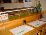 Bar à sushis chez Oomi