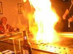 Teppanyaki flambée japonaise