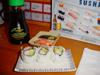 Sushi & sauce soja 'lite'