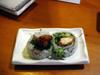 Tempura sushi (Poulet)