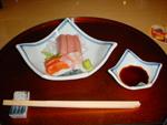 Sashimis - Thon gras, saumon et bar