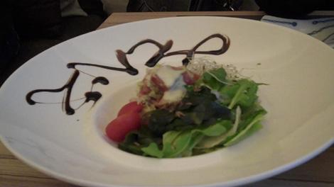 Maguro No Tarutaru to Avocat - Salade de thon rouge et avocat