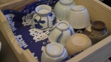 Verres à sake