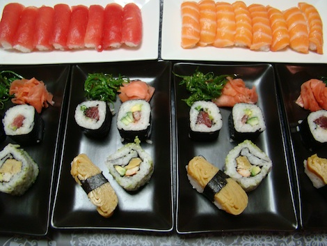 Sushi mix de chez Attrap'Sushi