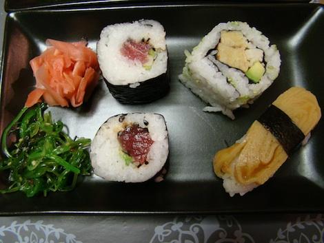 Plateau Attrap'Sushi