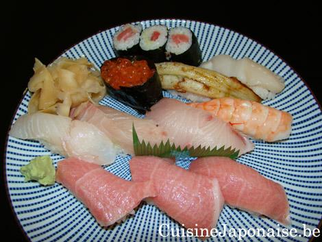 Dusseldorf - Yabase - Sushi de luxe dont l'O-toro ... un délice fondant