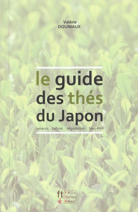 Page de couverture du guide des thés du Japon