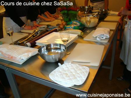 Cuisine le blog de for Apprendre cuisine japonaise