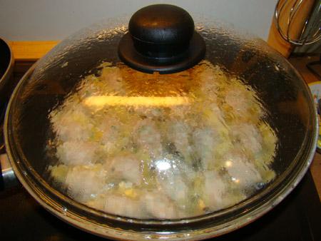 Gyoza - Raviolis japonais au hachis porc-veau