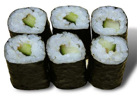 Kappa Maki - Sushi au concombre