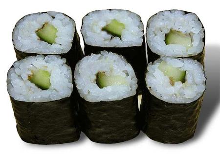 Kappa Maki - Sushi au concombre