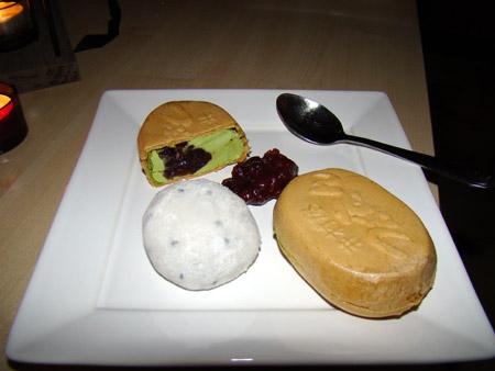 Desserts japonais glacés