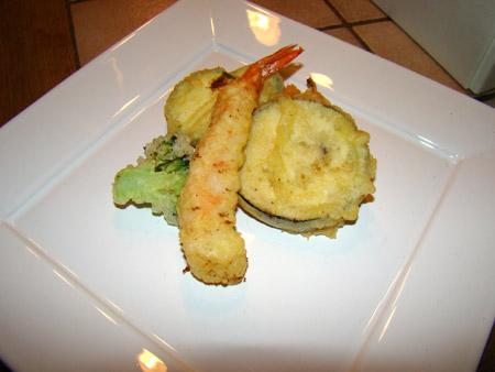 Assiette de tempura