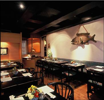 Premier étage du restaurant Samourai