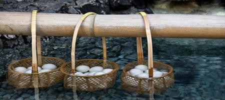 Tamago Onsen - Les oeufs des sources chaudes japonaises