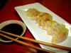 Gyozas, raviolis japonais (3 avril 2010)