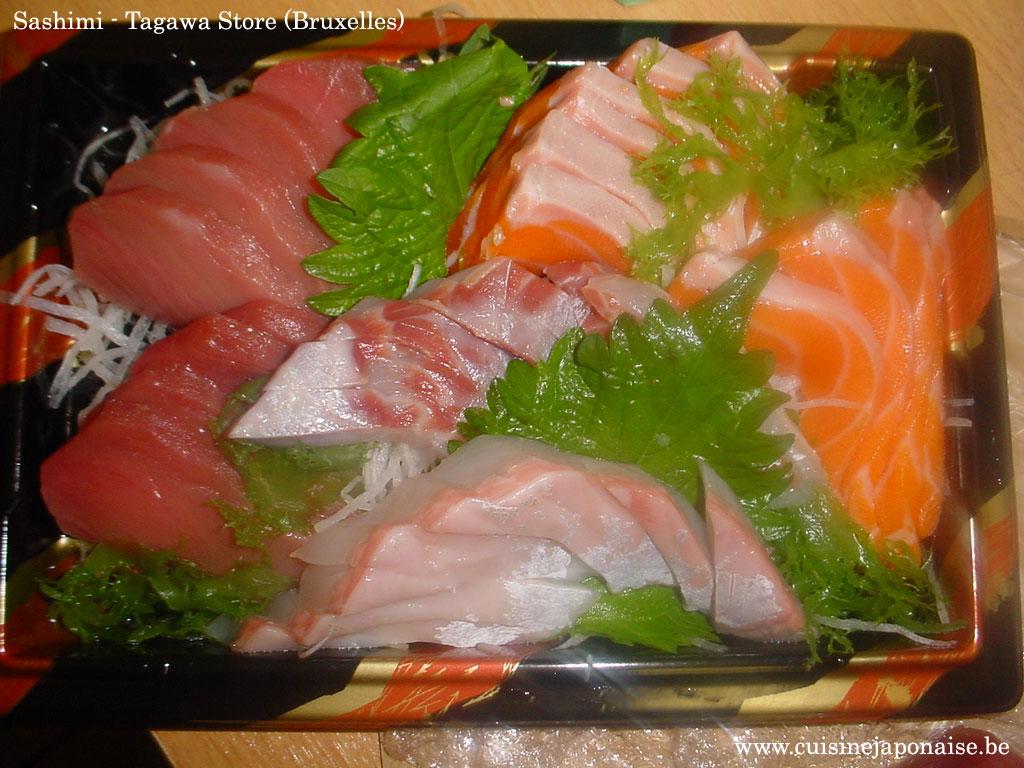 Portion Sashimi du Tagawa Store (24 Novembre 2007)