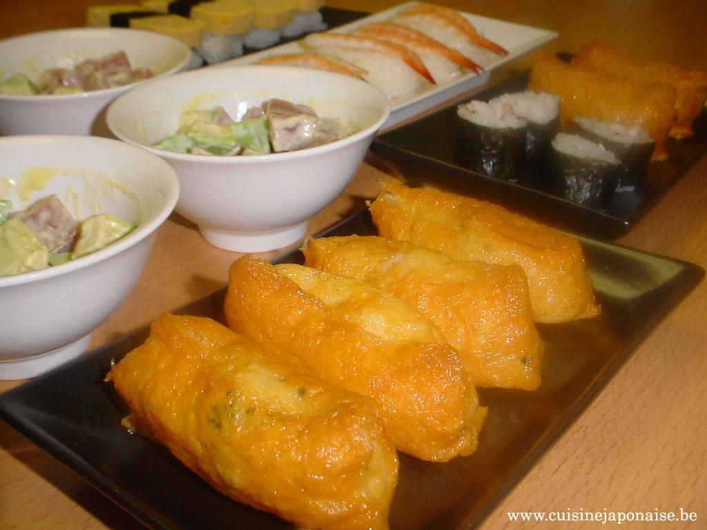 Mix de sushis sashimi (24 Novembre 2007)