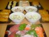 Repas de sushi sashimi (24 Novembre 2007)