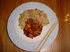 Yakitori & Yakimeshi (Riz sauté japonais) (27 Décembre 2003)